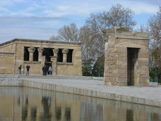 Templo de Debod : Vista exterior