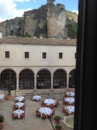 Parador de Cuenca : view into the courtyard