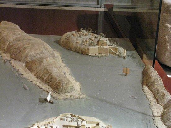Templo de Debod : Maqueta