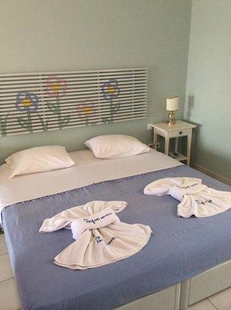 Nefeli Hotel Lipsi: Letto