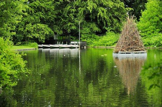 Frederiksberg Have: На озере