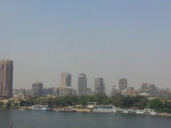 InterContinental Cairo Semiramis: Vue sur le Nil depuis le 20e étage