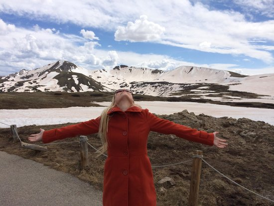 Independence Pass: Glad to be alive!
