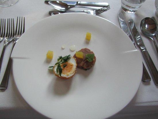 The Raven Hotel & Restaurant: Ham course