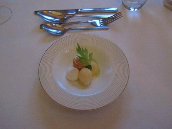 The Raven Hotel & Restaurant: Celery course