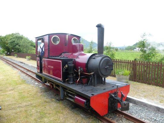 Welsh Highland Heritage Railway: Welsh Highland Heritage Line loco Gertrude
