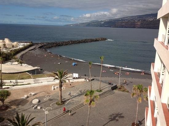 H10 Tenerife Playa : view from our room
