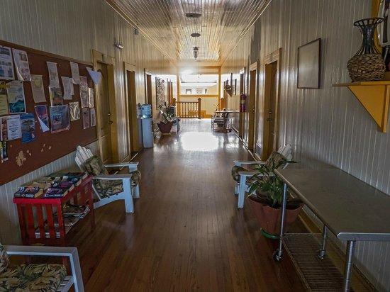 Gran Hotel Bahia: pasillo interior del 2º piso