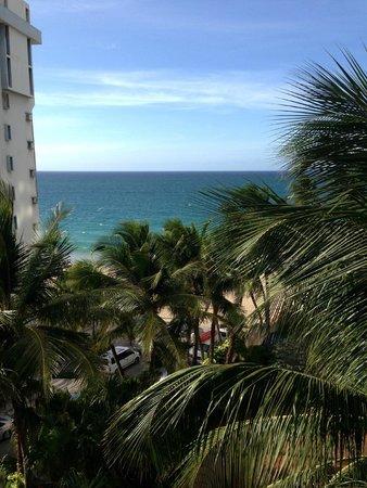 San Juan Marriott Resort & Stellaris Casino: view from our room