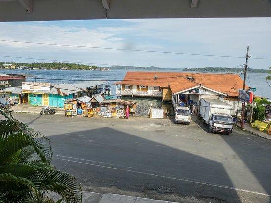 Gran Hotel Bahia: vistas desde el balcón frontal