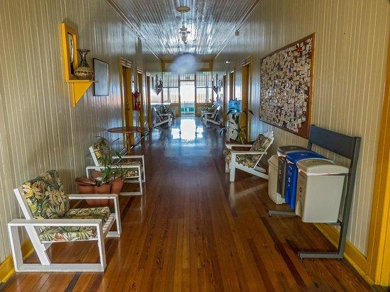 Gran Hotel Bahia : pasillo interior del 2º piso