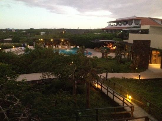 Finch Bay Eco Hotel : hotel view