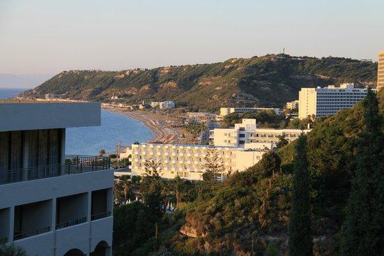 Amathus Beach Hotel Rhodes: Вид из номера