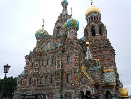 UlkoTours -Day Tours : Church of Spilled Blood, St Petersburg