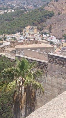 Castillo de Gibralfaro : Castle walls