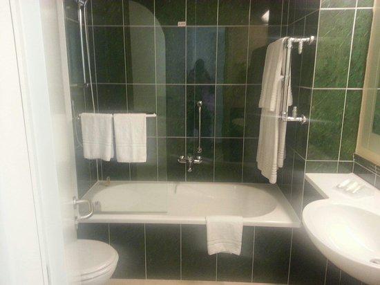 Hilton Garden Inn Rome Airport: Bathroom