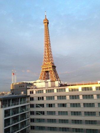Mercure Paris Centre Tour Eiffel: VISTA DO QUARTO.