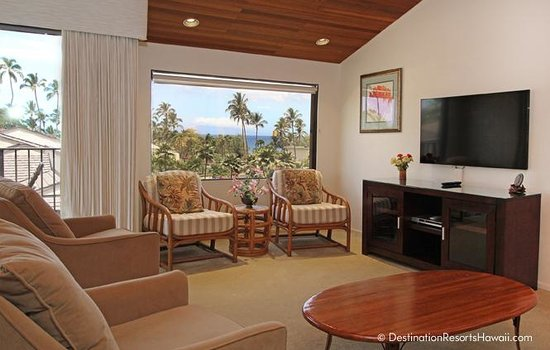 Wailea Elua Village: Living Room