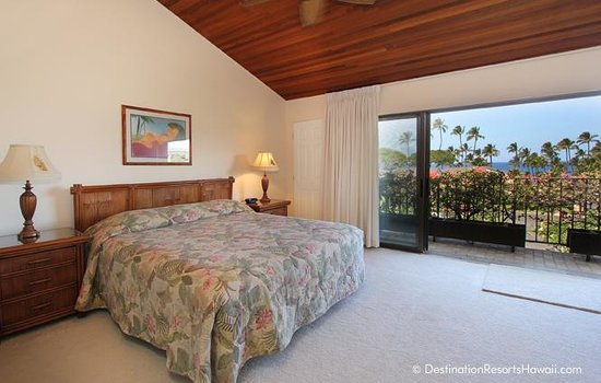 Wailea Elua Village: Master Bedroom