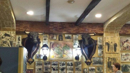 Restaurante Casa Riquelme: The restaurant