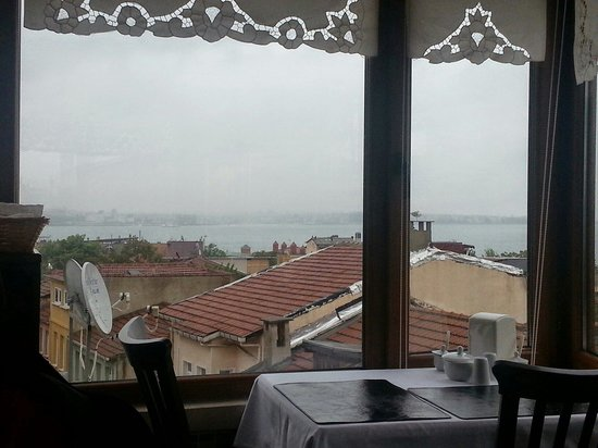 Berce Hotel: Cloudy day