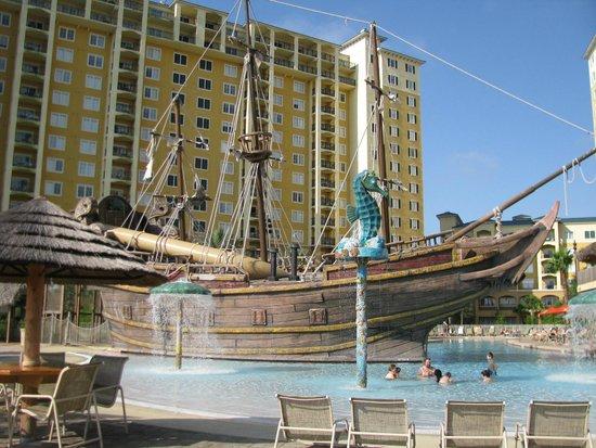 Lake Buena Vista Resort Village & Spa: Pool side view