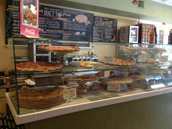 Duetto Pizza and Gelato: Front County at Duetto's