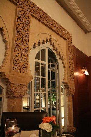 Hotel la Tour Hassan: Intèrieur