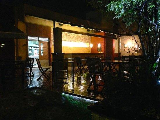 Lo Restaurante: terrasse