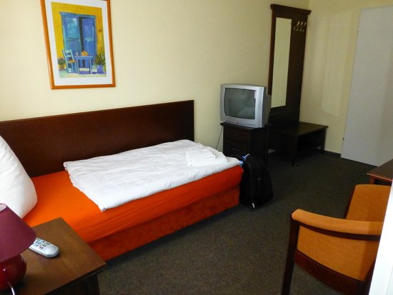 Hotel Störtebeker: Sehr schmales Bett