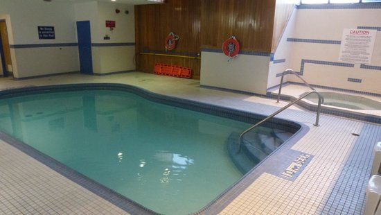 Comfort Inn & Suites: Piscine + Spa