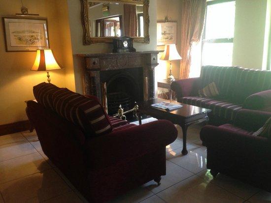 Oranmore Lodge Hotel : Lobby in Oranmore Lodge