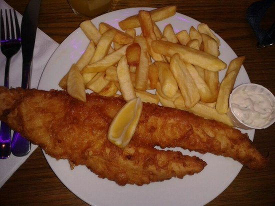 Baileys Fish and Chips: Londra