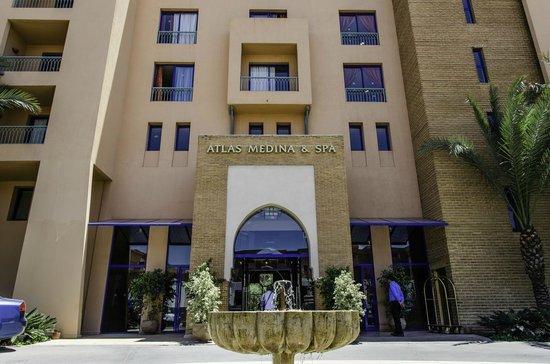 Atlas Medina & Spa: Hotel Atlas Medina, entrata