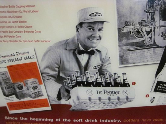 Dr Pepper Museum : Advertisement