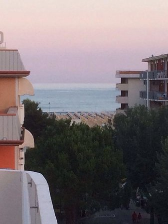 Hotel Europa: Vista dalla camera 503