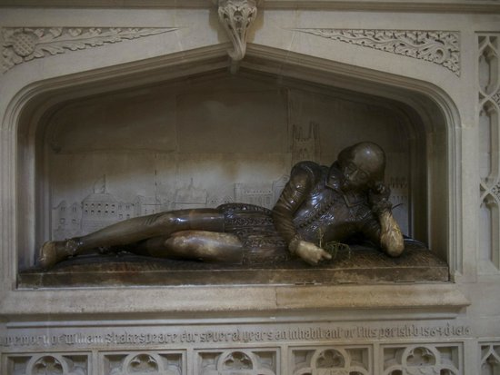 Southwark Cathedral: A tribute to The Bard, his brother is buried nearby