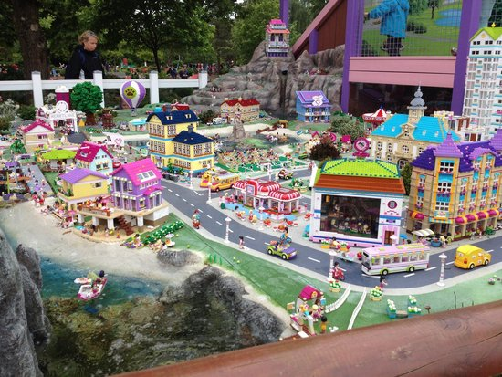 Billund, Denmark: Lego friends