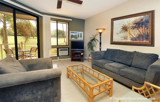 Wailea Grand Champions Villas: Living Room