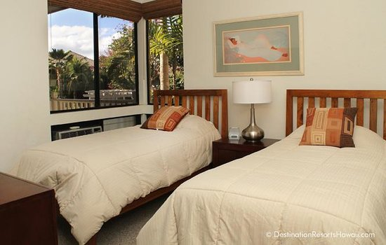 Wailea Grand Champions Villas: Second Bedroom