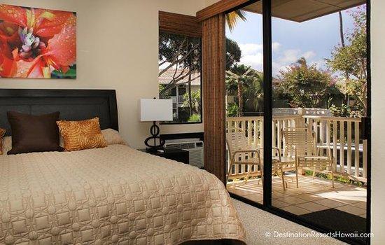 Wailea Grand Champions Villas: Master Bedroom