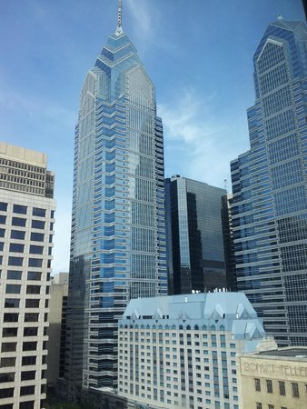 Sofitel Philadelphia Hotel: Another view from top floor room