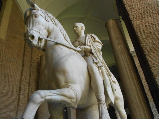 National Archaeological Museum of Naples: equestrian