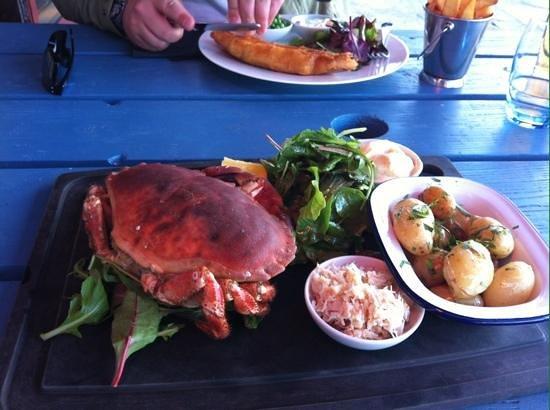 Crab Shack: My amazing dinner :-)