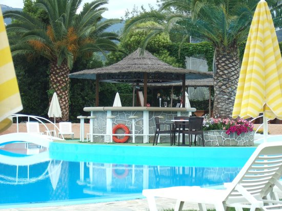Pegasus Hotel: pool bar