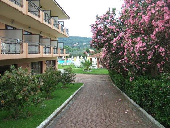 Pegasus Hotel: Side of hotel