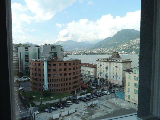 Ibis budget Lugano Paradiso: vue chambre 727 - 2
