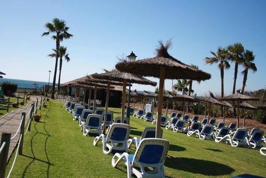 Aldiana Alcaidesa: Gartenanlage am Strand
