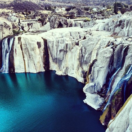 Shoshone Falls: Водопад