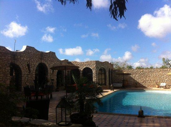 Villa Amaryllis : Swimming pool area